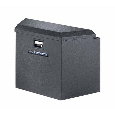 16IN TRAILER TONGUE BOX, STEEL, BLACK