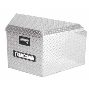 16IN TRAILER TONGUE BOX, ALUMINUM