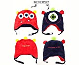 Monsters Reversible Kid's Winter Hat Small