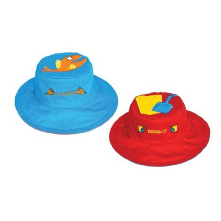 Fish/Pail Reversible Kids' Hat Medium