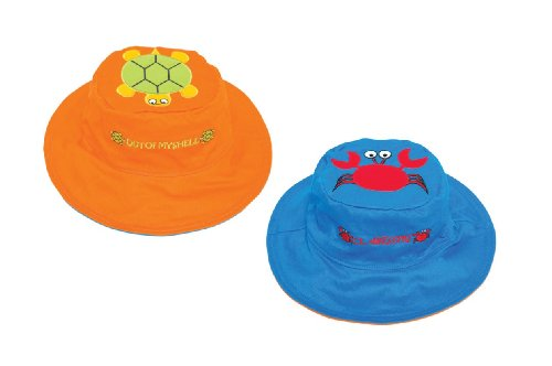 Turtle Crab Reversible Kids' Hat Small
