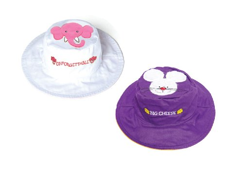 Elephant Mouse Reversible Kids' Hat Small