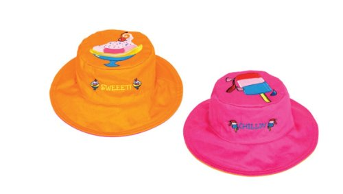 Sundae/Popsicle Reversible Kids' Hat Small