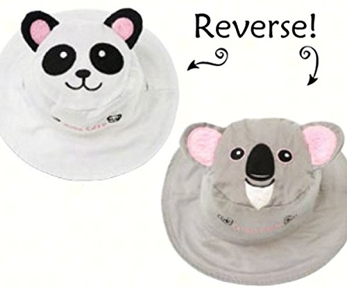 Panda/Koala Reversible Kids' Hat Medium