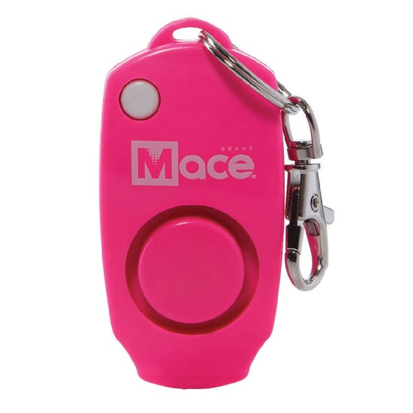 Mace Brand 80731 Personal Alarm Keychain (Neon Pink)
