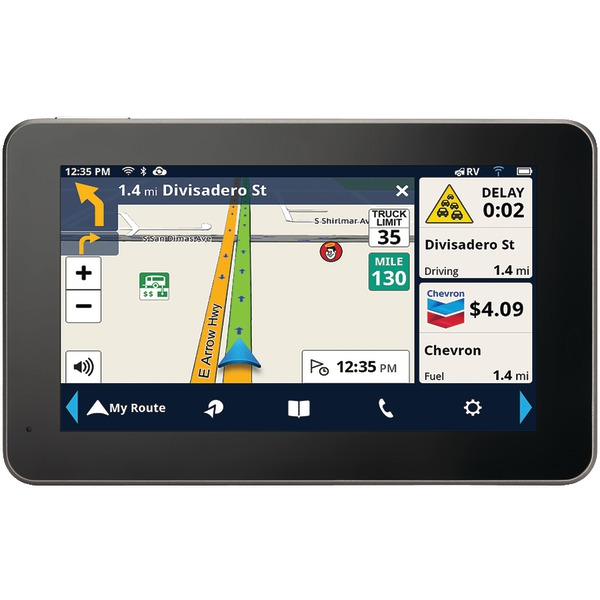 "MAGELLAN RV9490SGLUC RoadMate RV 9490T-LMB 7"" GPS Navigator with Bluetooth & Free Lifetime Maps & Traffic Updates"