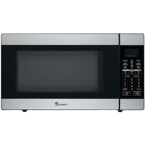 Magic Chef Mcd1811St 1.8 Cubic-Ft, 1,100-Watt Stainless Microwave Oven With Digital Touch