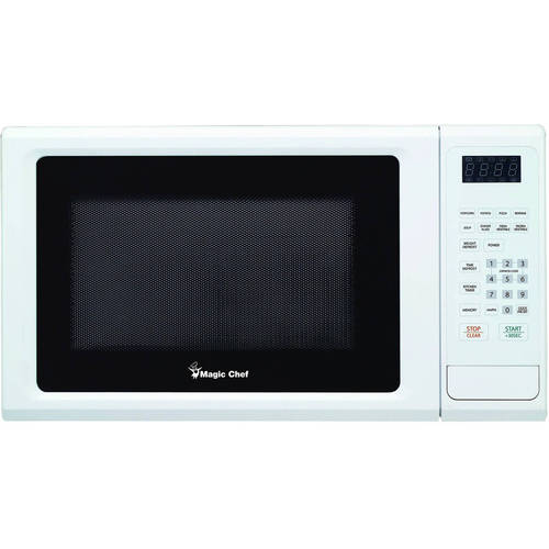 1.1 Cubic-ft, 1,000-Watt Microwave Oven with Digital Touch (White)