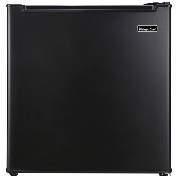 Magic Chef MCR170BE 1.7 Cubic-ft Manual Defrost Refrigerator (Black)