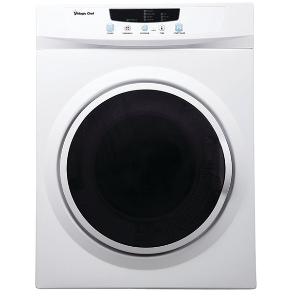 Magic Chef MCSDRY35W 3.5 Cubic-ft Electric Dryer