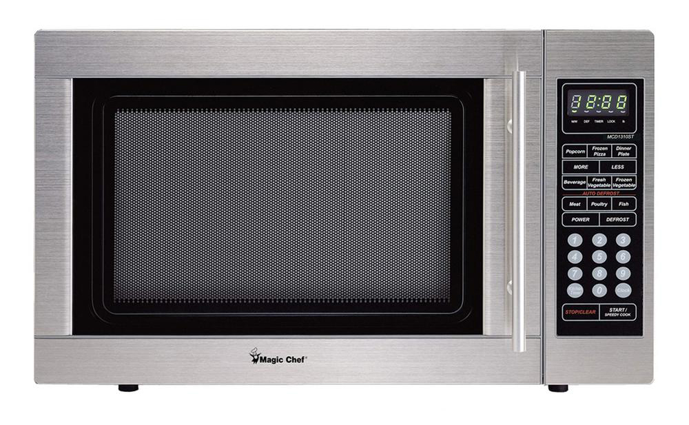 1.3 cf 1000w Microwave Oven all STAINLESS