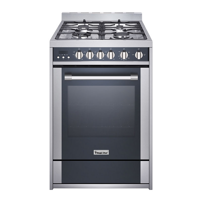 "24"" Gas Freestanding Range, Convection Oven"