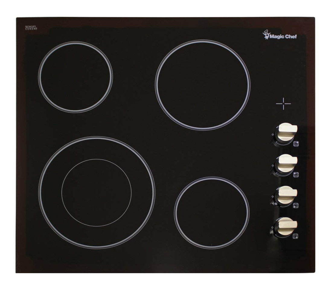 "24"" Built In Electric Cooktop"
