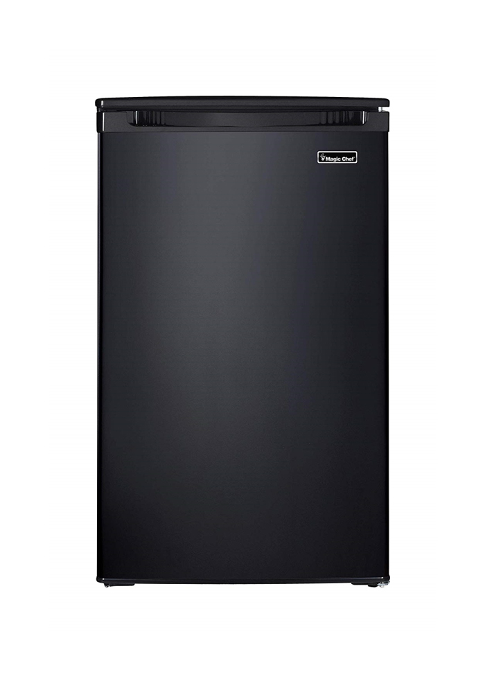 4.4 Cu Ft All-Refrigerator, Glass Shelves, Vegetable Crisper
