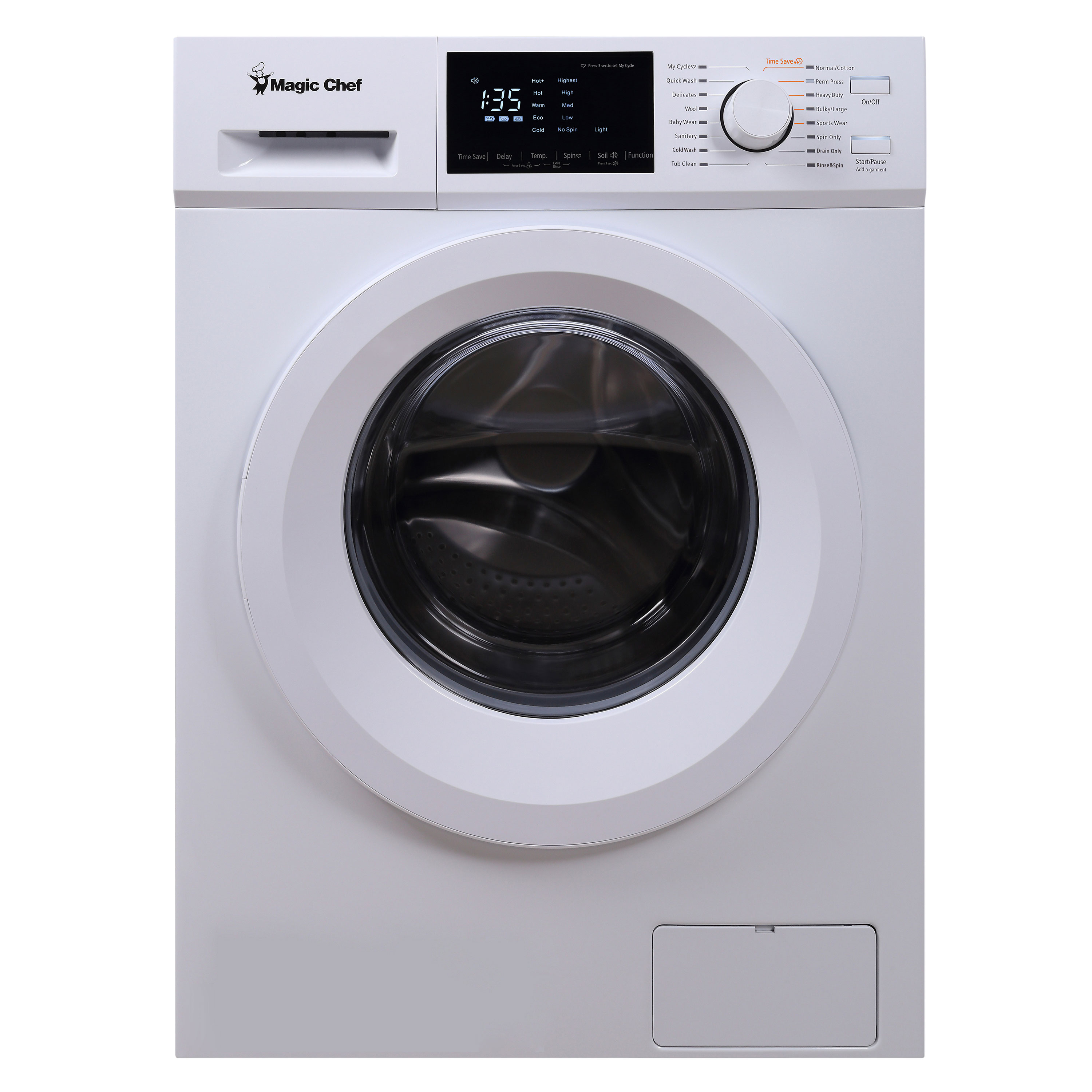 2.7 Cu Ft Frontload Washer