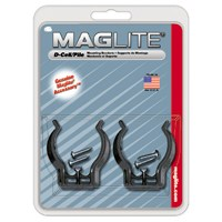 Maglite ASXD026 Mounting Bracket, For Use with D-Cell, Black