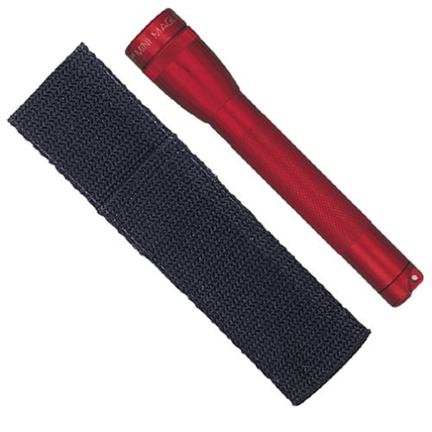 MagLite AA Mini Flashlight and Holster Combo Pack, Red