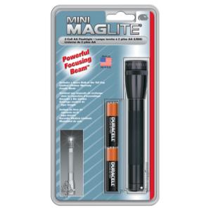 Maglite AA Flashlight Black    M2A016