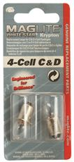 REPLACEMENT BULB FOR FLASHLIGHT 4 D BATTERIES  2 PACK