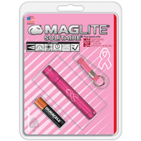MAGLITE  SOLITAIRE AAA NBCF PINK-BLISTER PACK