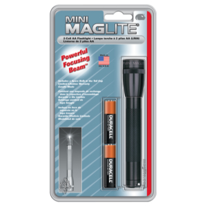 MAGLITE MINI  AA BLACK-BLISTER PACK