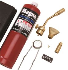 MAG-TORCH� DELUXE 7 PIECE PROPANE TORCH KIT, 3 PER BOX