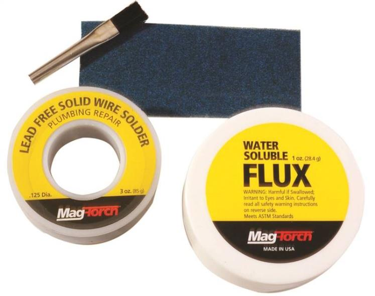 MagTorch MT 350 WF Flux and Solder Kit, Carded