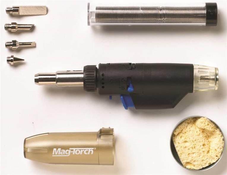 Mag-Torch MT 775 C 3-In-1 Micro Torch Kit With Case, Butane Fuel
