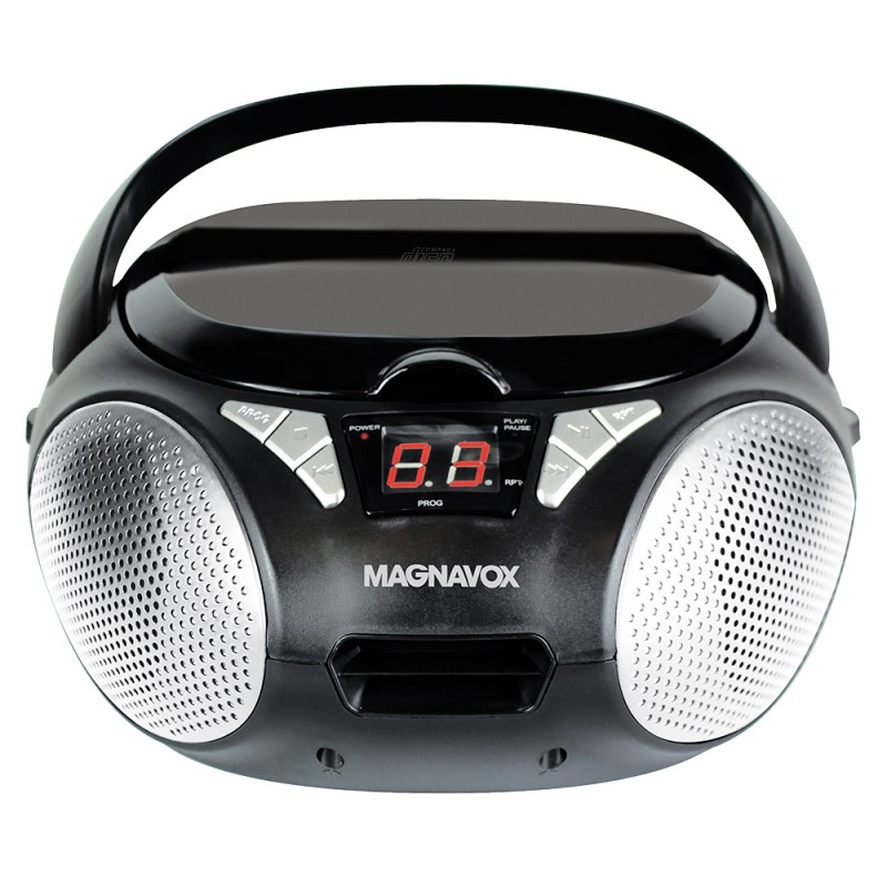 MAGNAVOX MD6924 CD BOOMBOX WITH AM FM RADIO WITH A DIGITAL