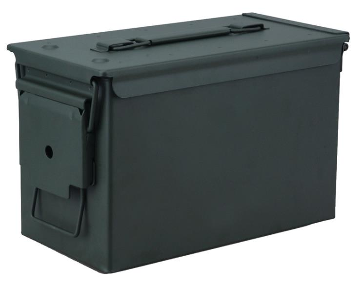 AMMO CAN METAL .50CAL OD GREEN