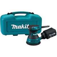 Makita BO5030K Random Orbit Corded Sander, 120 V, 3 A, 12000 opm