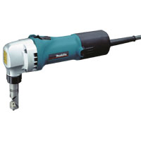 Makita JN1601 Corded Nibbler, Steel Up to 800 N/sq-mm: 0.8 mm, Aluminum Up to 200 N/sq-mm: 2.5 mm, 2200 spm, 120 V