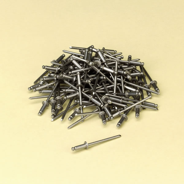 """1/4"""" 304-Alloy Stainless Steel Pop Rivets 100-Pack - SS/SS44DX"""