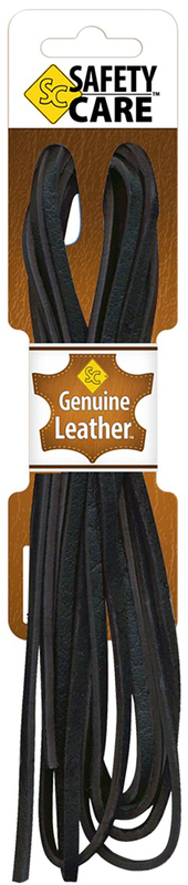 54067 72 IN. BLACK LEATHER LACE