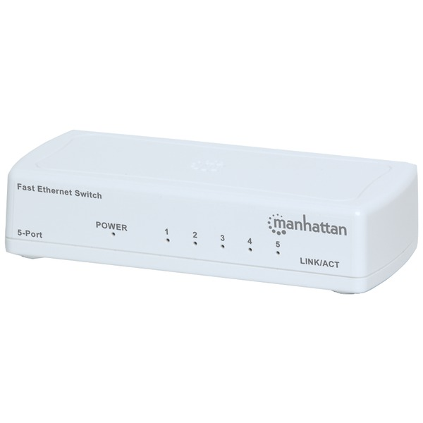 MANHATTAN 560672 Fast Ethernet Office Switch (5 Port)