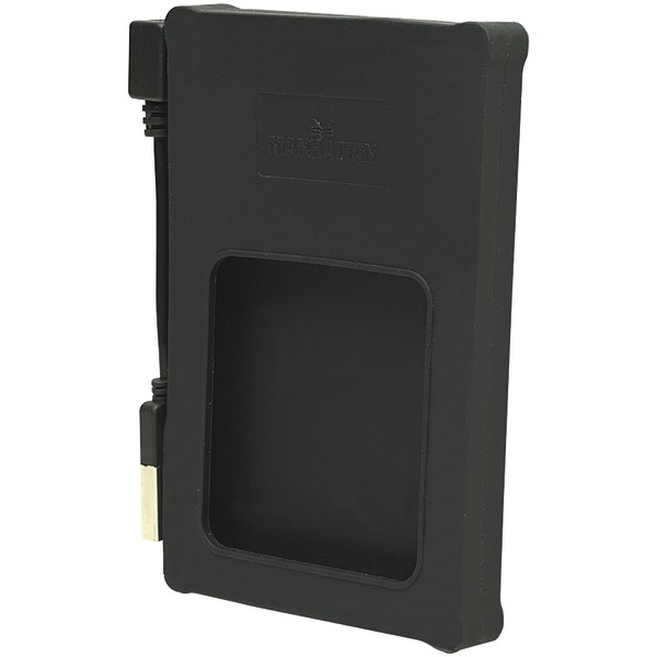 "MANHATTAN 130103 2.5"" SATA Hard Drive Enclosure for Hi-Speed USB 2.0 (Black)"