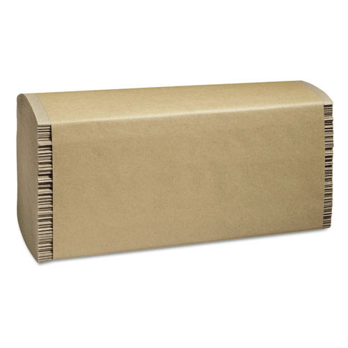 100% Recycled Folded Paper Towels, 9 1/4x9 1/2,Multi-Fold, Natural,250/Pk,16/Ctn