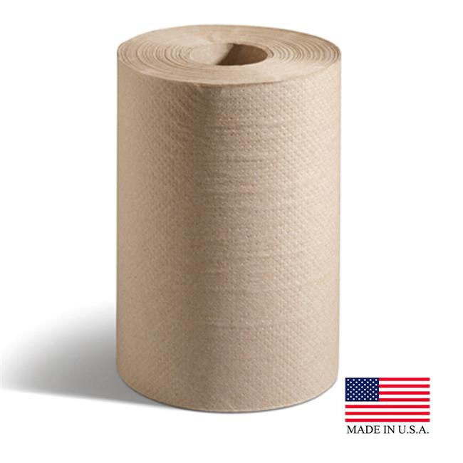 100% Recycled Hardwound Roll Paper Towels, 7 7/8 x 350 ft, Natural, 12 Rolls/Ct