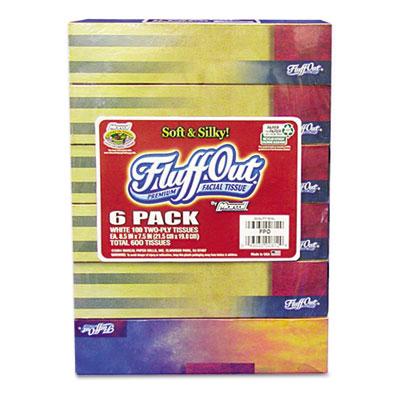 100% Premium Recycled Facial Tissue, 100 Tissues/Box, 72 Boxes/Carton