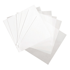 Deli Wrap Dry Waxed Paper Flat Sheets, 18 x 18, White, 1000/Pack