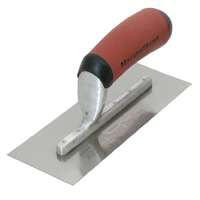 Marshalltown 11D Midget Trowel, 3 in W x 8 in L, Steel Blade DuraSoft Handle