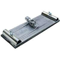 Marshalltown 26 Swivel Pole Sander Head, 9-3/8 in X 3-1/4 in, Die-Cast Aluminum