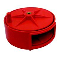 TIE WIRE REEL RED PLASTIC