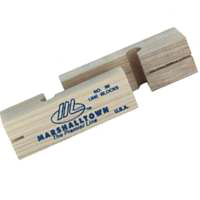 Marshalltown 86 Line Block, 3-3/4 in L, Wood