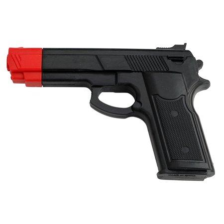 Master Cutlery Rubber Training Gun Black with Orange Tip