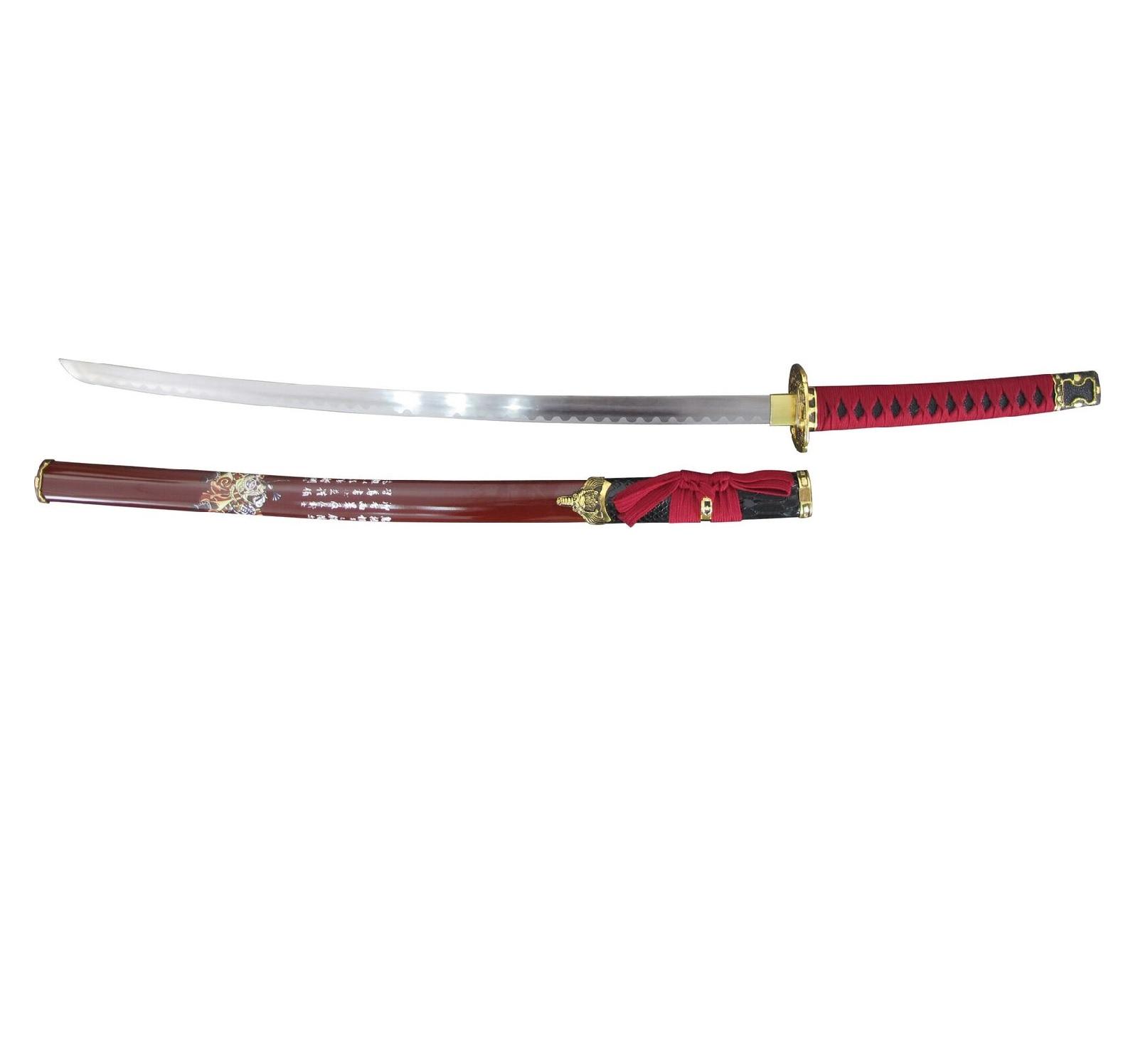 Master Cutlery SW-90RD Samurai Sword 26.50 in Blade