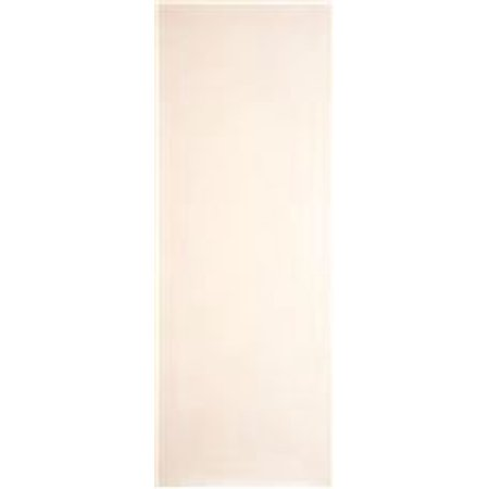 MASONITE� SLAB HARDBOARD DOOR, PRIMED WHITE, 24X80 IN.