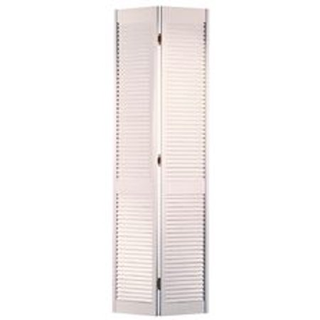 MASONITE� FULL LOUVER BI-FOLD DOOR, WHITE, 80X24 IN.
