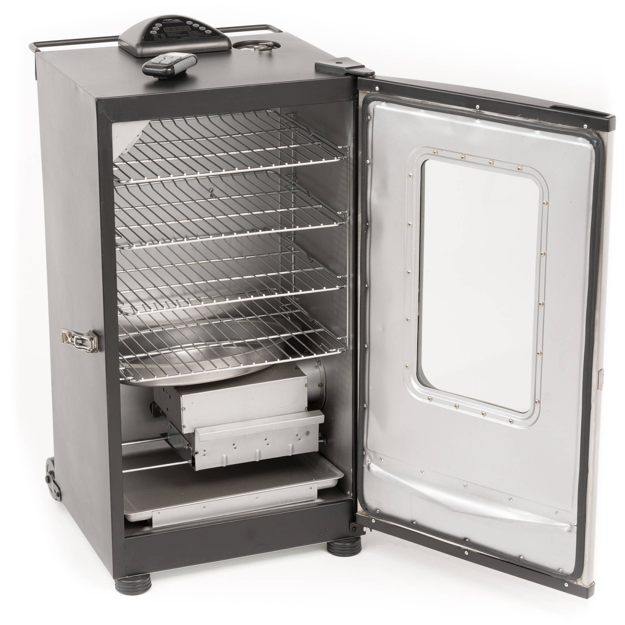 Masterbuilt 20070411 Smoker Electric, 800 W, 975 sq-in, Stainless Steel