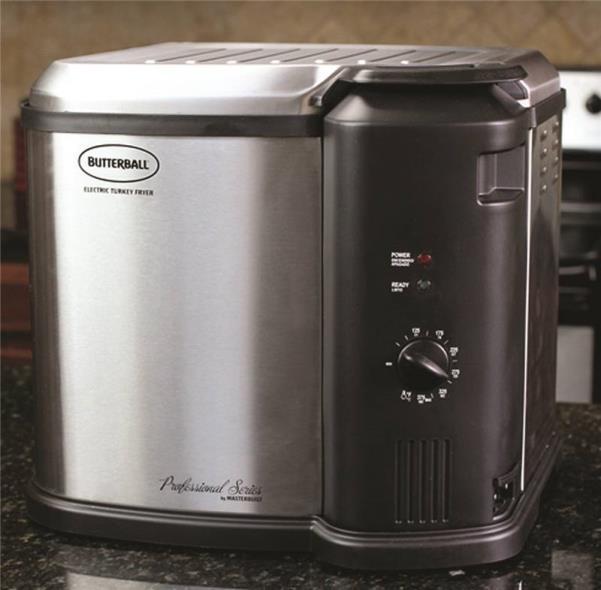 Masterbuilt 23011104 Electric Fryer Cooker, Upto 14 lb